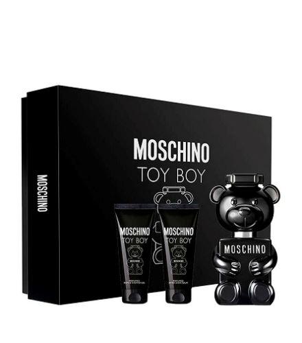 Moschino Toy Boy parfémovaná voda 50 ml + sprchový gel 50 ml + balzám po holení 50 ml dárková sada Pro muže