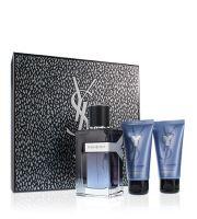 Yves Saint Laurent Y EDP 100 ml + sprchový gel 50 ml + balzám po holení 50 ml  Pentru bărbati cadou