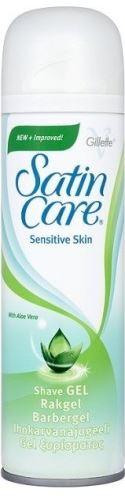 Gillette Satin Care Sensitive Skin gel de ras pentru pielea sensibila 200 ml Pentru femei