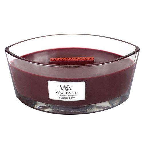WoodWick Black Cherry lumânări parfumate 453 g