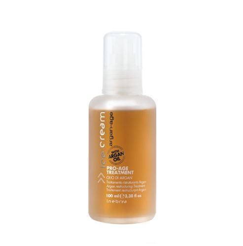 INEBRYA ARGAN-AGE Pro-Age Treatment olej na vlasy s arganem 100 ml Pentru femei