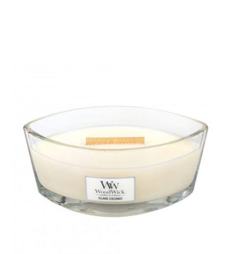 WoodWick Island Coconut lumânări parfumate 453 g