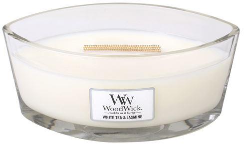 WoodWick White Tea & Jasmine lumânări parfumate 453,6 g