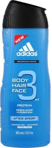 Adidas 3in1 After Sport Sprchový gel 400 ml M