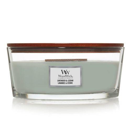 WoodWick Lavender & Cedar lumânări parfumate 453 g