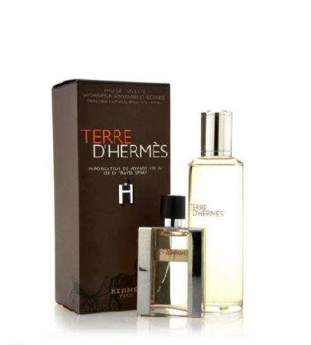 Hermes Terre d'Hermes EDT 30 ml + toaletní voda náplň 125 ml Pentru bărbati cadou